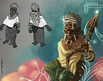 Anansi and the Sky God- Concept Design