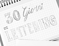 30 giorni di LETTERING