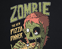 Zombie Pizza Dinner