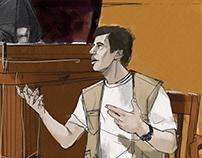 CNNTurk / Courtroom