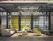 AUA company office interior