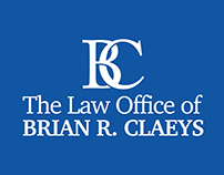 Visual Identity for The Law Office of Brian R. Claeys