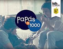 Papás a 1000