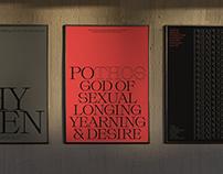 Typographic Love Letters