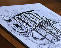 Pencil & Ink Typography
