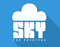 SKY For Printing Logo