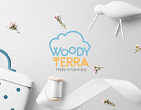 """Woody Terra"" Company. Logo and Corporate Identity"