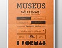 "Posters ""Conhecendo Museus"""