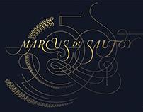 Marcus du Sautoy 50th - Artistic Mathematical Diagram