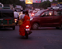 Ethnographic study on Traffic in a Two-Tier city