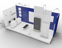 Moo Interior Set Design : Art Basel / Scope Fair 2015