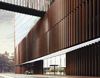 Cerrad HQ - office building - exteriors