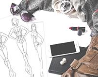 Fashion Croquis Design