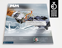 MM MaschinenMarkt Magazin - Redesign