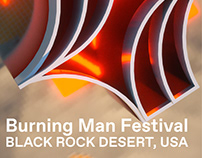 Burning Man Festival Identity