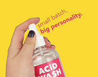 ACiD WASH Body Care, Branding & Packaging Design