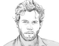 Asif digital portrait