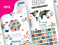 SEO & Business Infographic Bundle