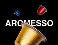 BRANDING/ WEB/ AROMESSO/ 2017