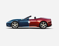 Ferrari California-T launch website