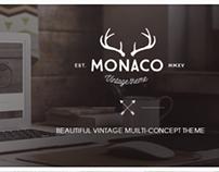 Monaco – Vintage Multi-Concept Theme