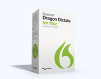 Dragon Dictate 4 Box Design