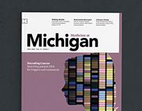 Medicine at Michigan Magazine redesign