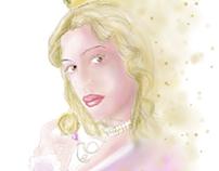 ilustración en tablet canaima