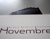Novembre, design logo.