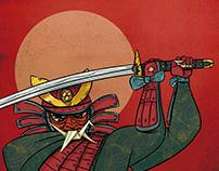 A dobradura do Samurai