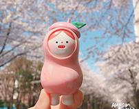 Cherry Blossom kong