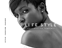 LIFE STYLE Presentation Template