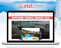 Otel.com Hotel Detail Page Concept Design