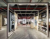 COURIR, branding & retail design