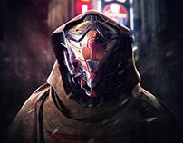 Cyberpunk Character Bust_01