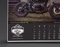 CAFE RACER Calendar 2016