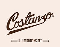 Set de Ilustraciones Costanzo