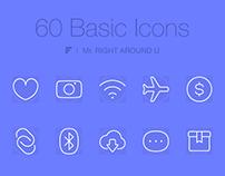 60 Basic Icons