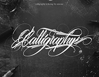 """""""Calligraphy"""" Lettering"""