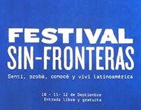 Festival Sin Fronteras - Festival design