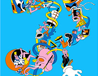 Kuwasawa Design School Poster
