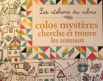 """Book """"Cherche et trouve les animaux"""""""