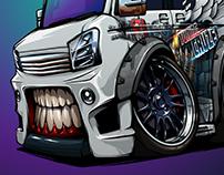 Suzuki Every Van BeastedUp!