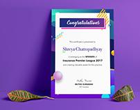 Event Certificate 2017