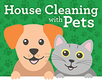 Housecleaning with Pets