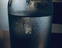 Water solution of glass