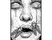 """Terminal Island """"Cicada Meditation"""" Album Branding"""
