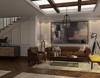 Contemporary villa's reception at SIA office