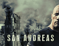 San Andreas - Fan Made Poster