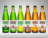 Lomza BeersPackshot renderings